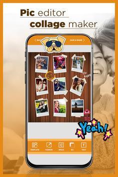 Pic Editor - Collage Maker & Collage Art screenshot 4