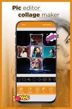 Pic Editor - Collage Maker & Collage Art screenshot 3