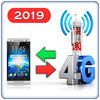 3G to 4G Switch 2019 - Speed Test أيقونة