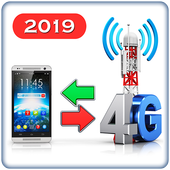 3G to 4G Switch 2019 - Speed Test ícone