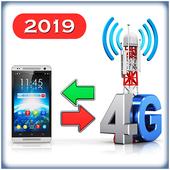 3G to 4G Switch 2019 - Speed Test иконка