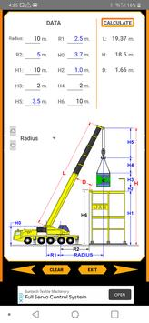 Crane Boom Selector screenshot 1