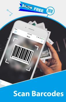 Free QR Scanner: Bar Code Scanner & QR Code Reader screenshot 1