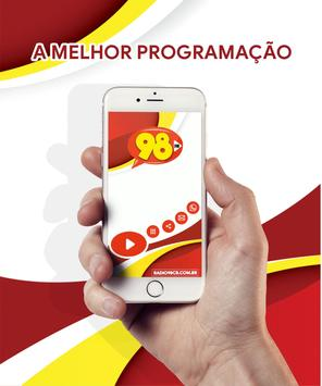 Radio 98 FM Campo Belo - MG screenshot 4