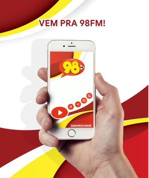 Radio 98 FM Campo Belo - MG screenshot 1
