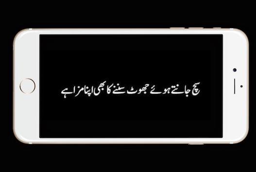 Dukhi Urdu Lines Status screenshot 1
