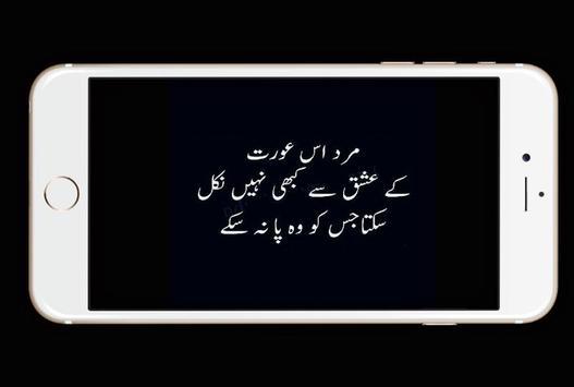 Dukhi Urdu Lines Status screenshot 2