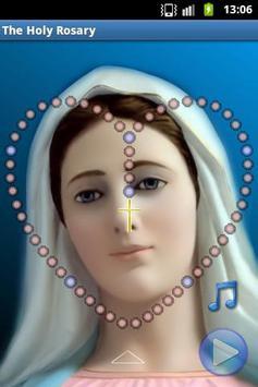 The Holy Rosary plakat