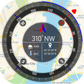 GPS Compass Map for Android icon