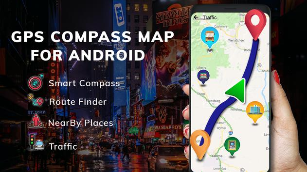 GPS Compass Map for Android screenshot 10
