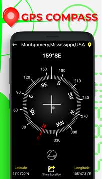 GPS Compass Map for Android screenshot 11