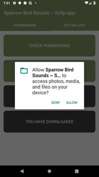 Sparrow Bird Sound Collections ~ Sclip.app screenshot 1