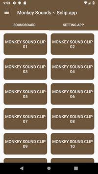 Monkey Sound Collections ~ Sclip.app poster