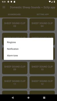 Domestic Sheep Sound Collections ~ Sclip.app screenshot 2