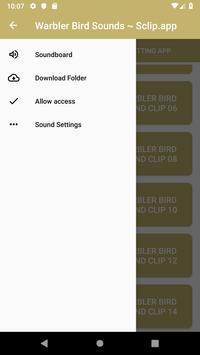 Warbler Bird Sound Collections ~ Sclip.app screenshot 3