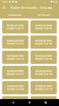 Warbler Bird Sound Collections ~ Sclip.app poster