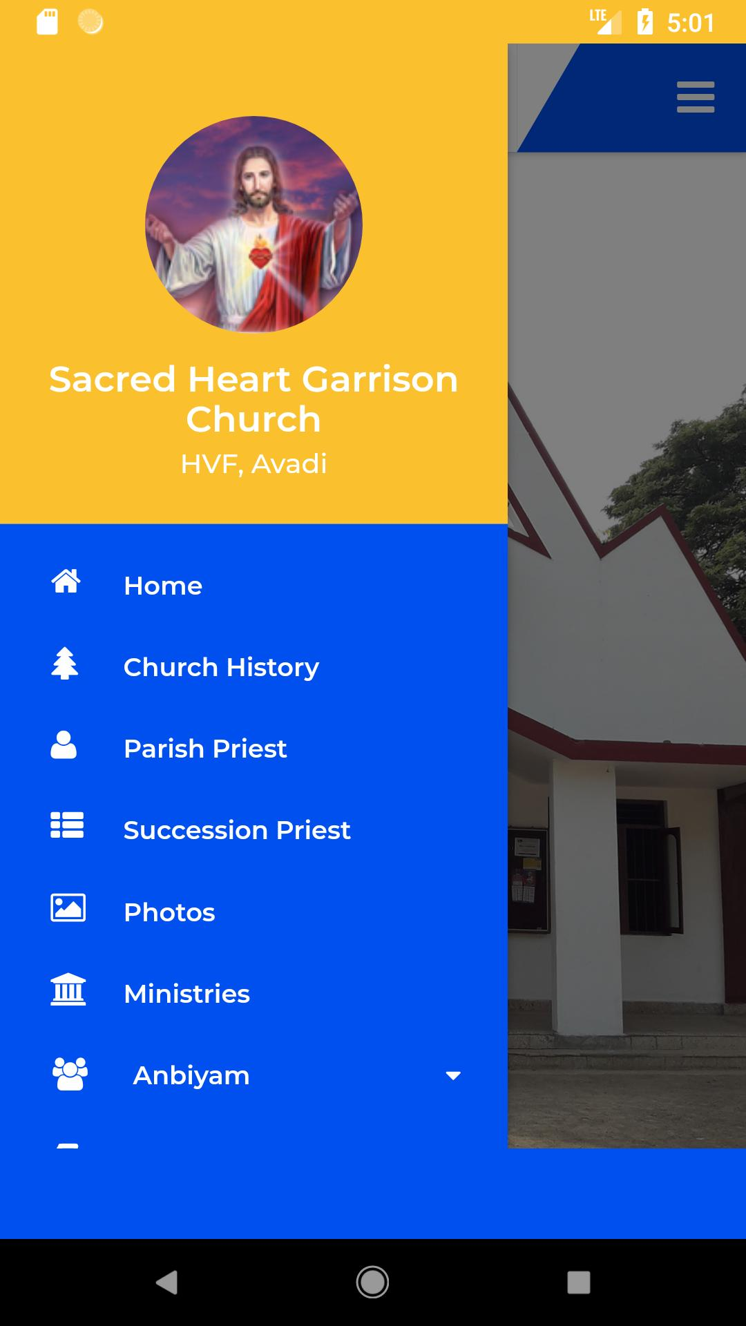 Sacred Heart Garrison Church - Avadi (SHGC) for Android - APK Download