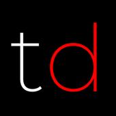 Traced icon