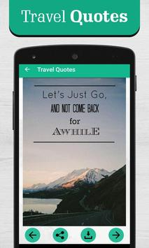 Travel Quotes screenshot 3
