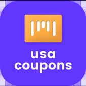 USA Coupons icon