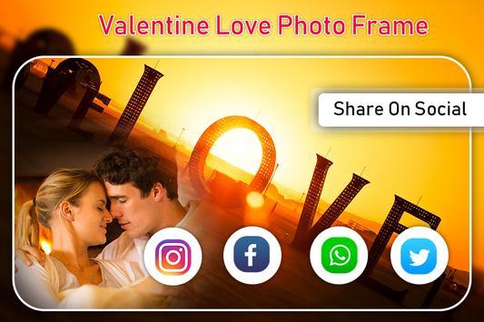 Love Photo Frame : Valentine Day Photo Frames screenshot 4