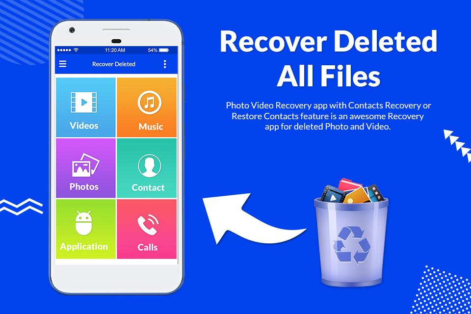 Recover Deleted All Files, Photos, Videos &Contact for