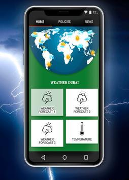 Weather Dubai poster