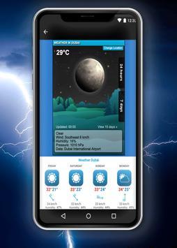 Weather Dubai screenshot 1