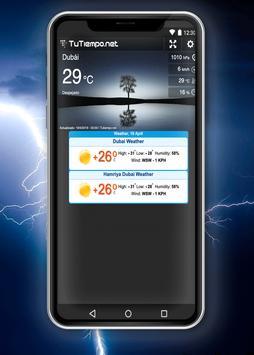 Weather Dubai screenshot 2