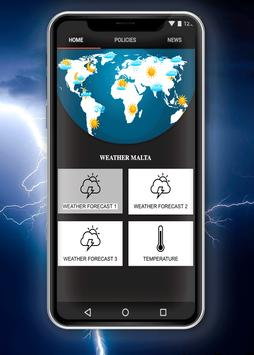 Weather Malta poster