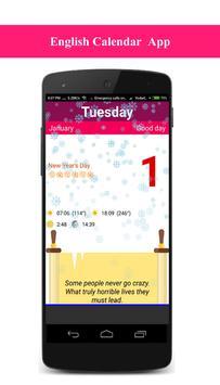 Calendar 2019 South Africa screenshot 2