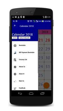 Calendar 2019 South Africa screenshot 6