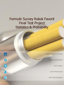Survey Rokok Favorit screenshot 6
