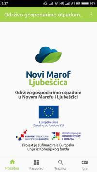Održivo gosp. otpadom u Novom Marofu i Ljubešćici poster