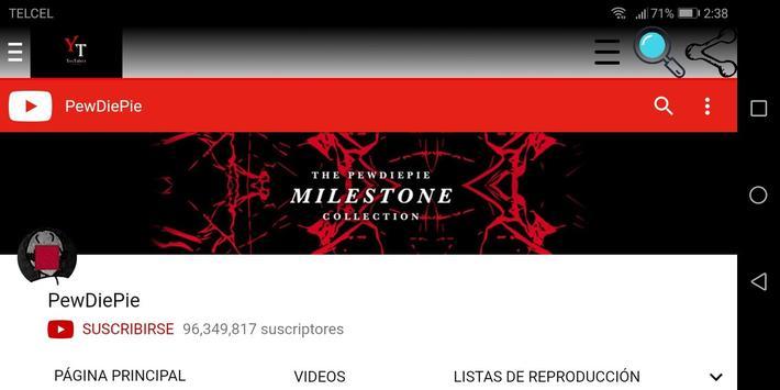 Youtubers Channels screenshot 3