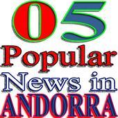05 Popular News in Andorra icon