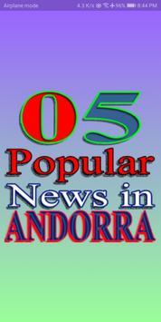 05 Popular News in Andorra poster