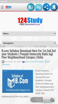 124 Study (FREE Education Portal) screenshot 3