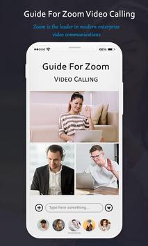 Guide for Zoom Cloud Meetings screenshot 1