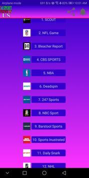24 Sport News in US screenshot 1
