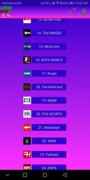 24 Sport News in US screenshot 2