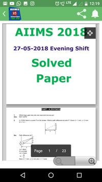 26 Years AIIMS Solved Papers 1994-2019 screenshot 5