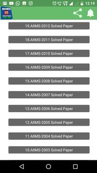 26 Years AIIMS Solved Papers 1994-2019 screenshot 2