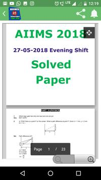 26 Years AIIMS Solved Papers 1994-2019 screenshot 4