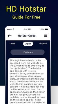 Tips for HD Hostar : Hostar Live TV Shows Guide screenshot 5