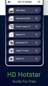 Tips for HD Hostar : Hostar Live TV Shows Guide screenshot 2