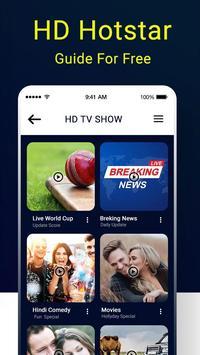 Tips for HD Hostar : Hostar Live TV Shows Guide screenshot 3