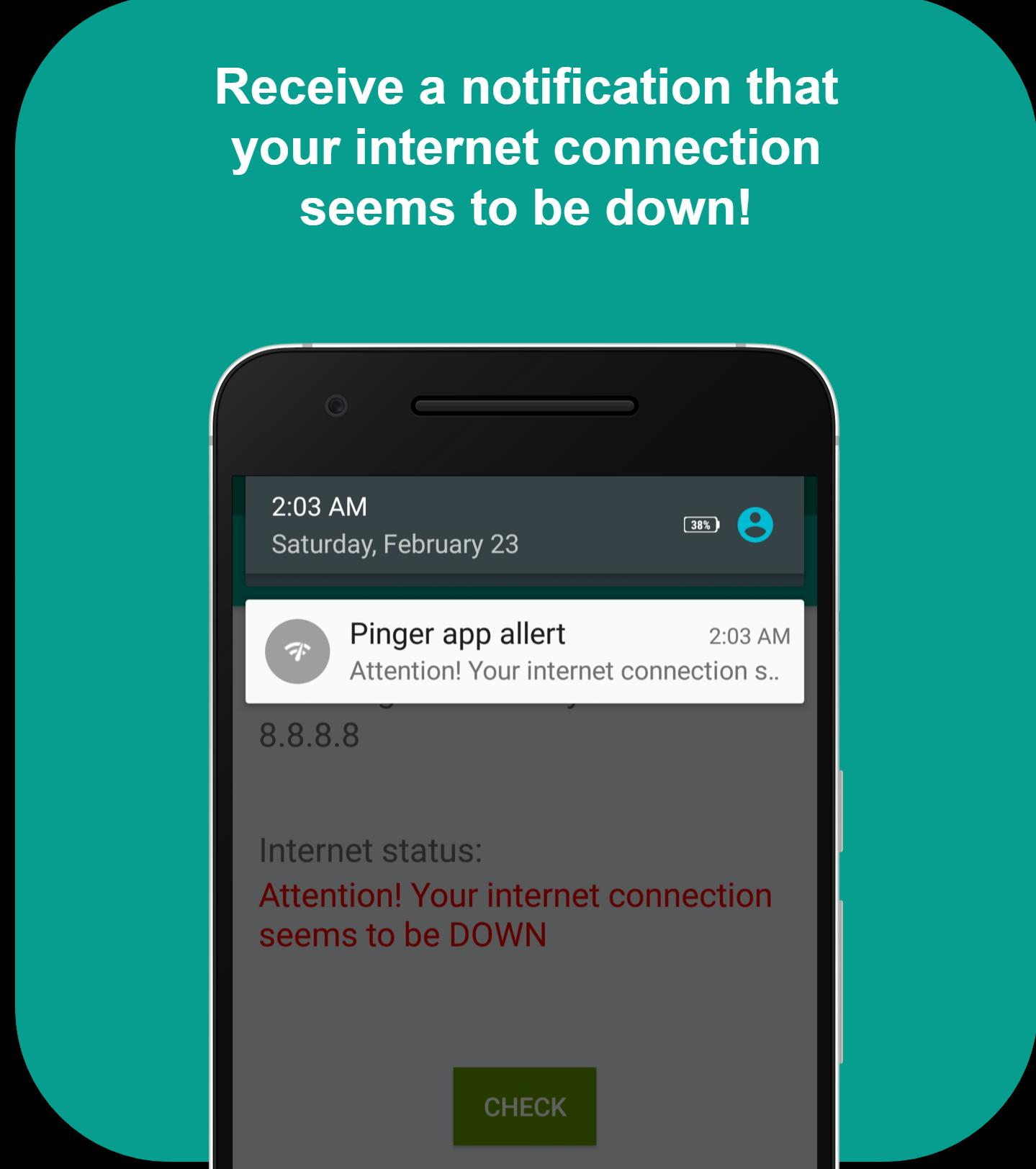 Pinger for Android - APK Download