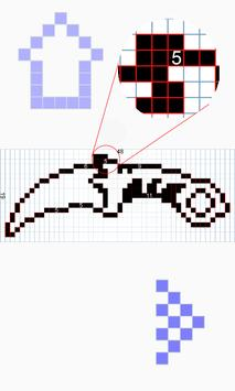 How to draw pixel weapon drawing step by step تصوير الشاشة 18