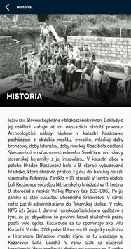 Obec Kozárovce screenshot 5